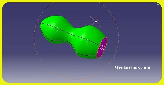 How to use Multi Section Solid in CATIA V5?   CATIA V5