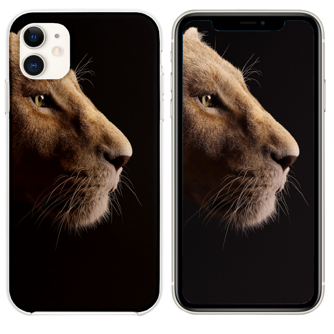 beyonce as nala the lion king 2019 5k iPhone 11 case and