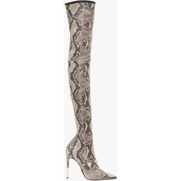 Amazone python thigh boots  7de1c1642d81