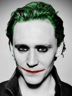 COOL!!! Tom Hiddleston and Joker crossover