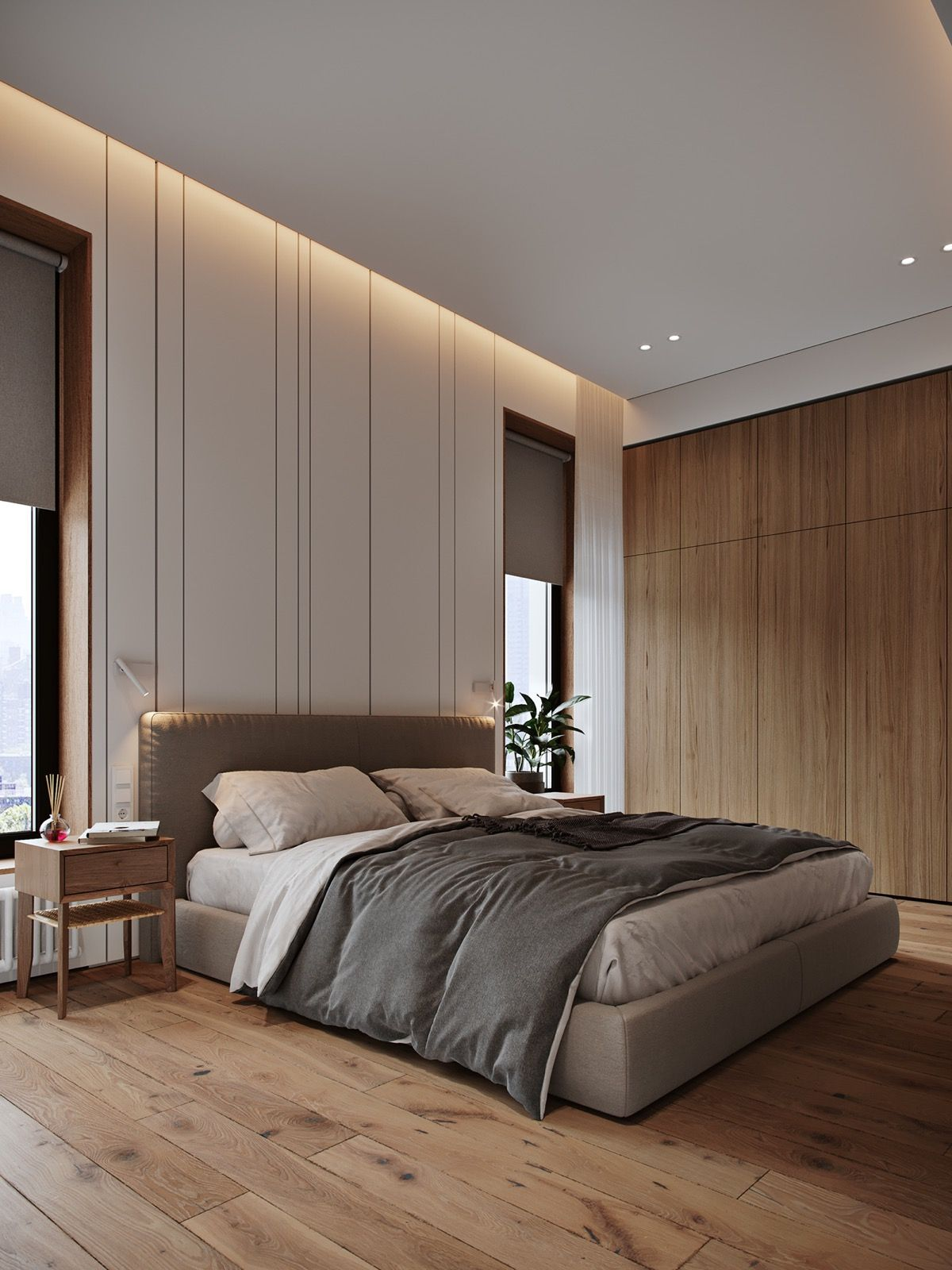 cozy contemporary family apartment in moscow modern on modern cozy bedroom decorating ideas id=48330