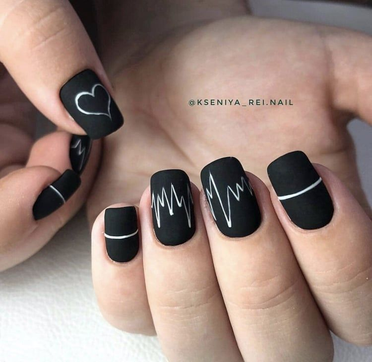 Imagem De Black Hands And Nails Minimalist Nails Grunge Nails Swag Nails