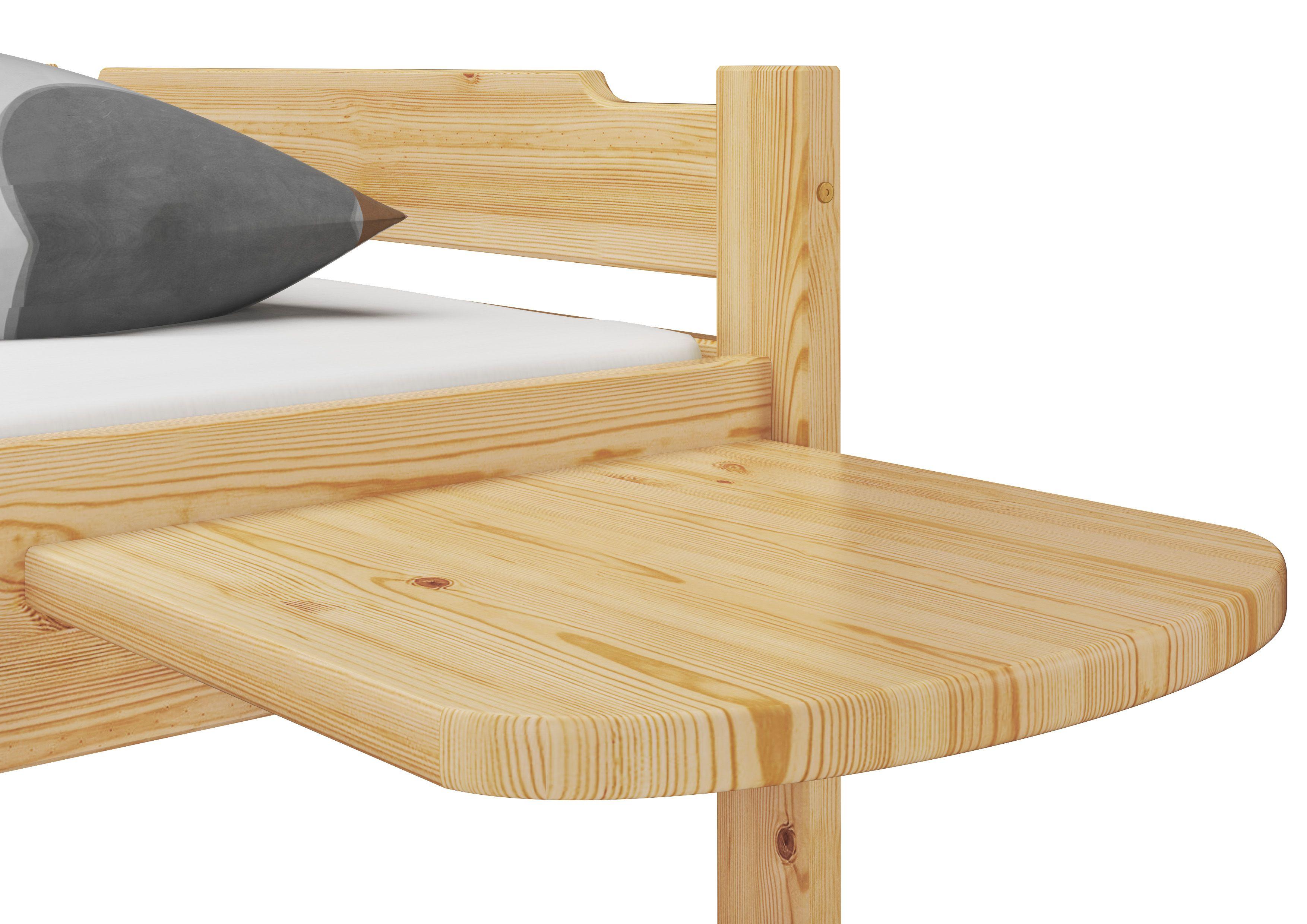 Praktische Bettablage Kiefer Natur Mit Bildern Nachttisch Regal Bettablage Bett