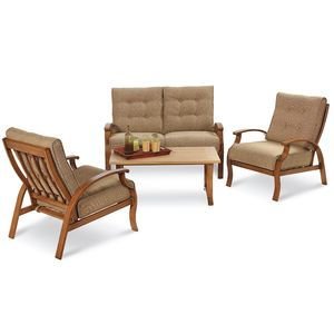 Catalina 4 Piece Seating Set Lounge Patio Furniture Outdoor Living Osh Categories Site