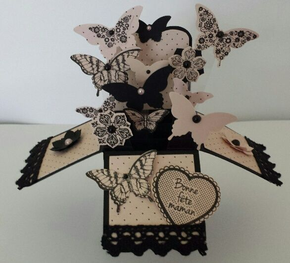 Participation De Rach L Lh Pop Up Box Cards Hand Crafted Cards Handmade Birthday Cards