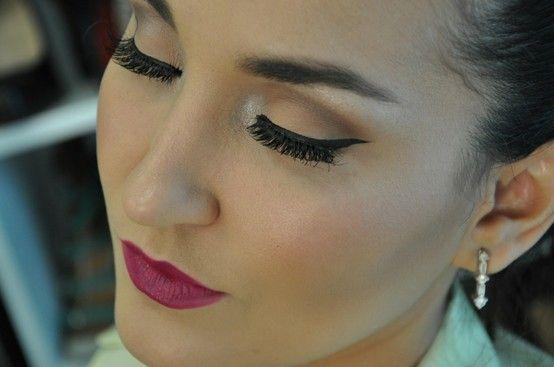 Maquiagem linda, simples e facil!