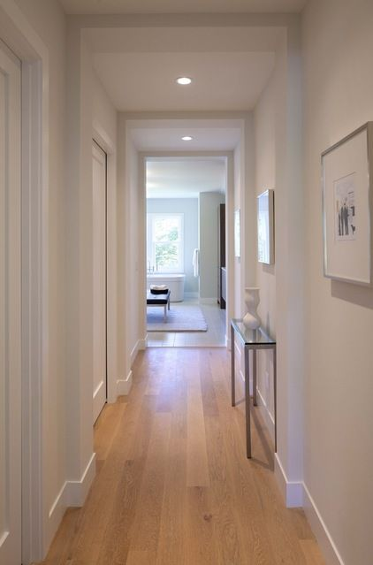 Modern Floor Molding Tall Base With Smaller Trim Profiles Less