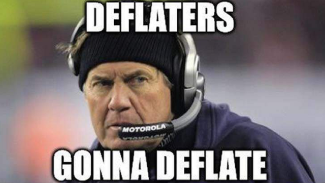 The Best New England Patriots Deflategate Memes The Story Of My