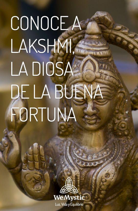 ba42b9f6ab2f Conoce a Lakshmi, la Diosa de la buena fortuna | afirmaciones ...