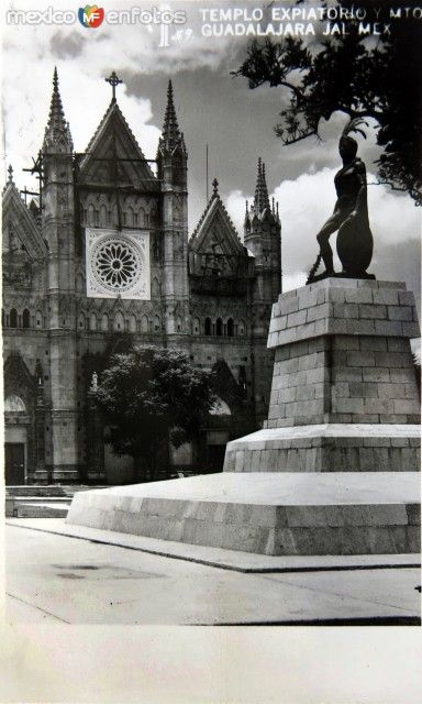 El Templo Expiatorio Circa 1930 1950 Guadalajara Jalisco Historia De Mexico