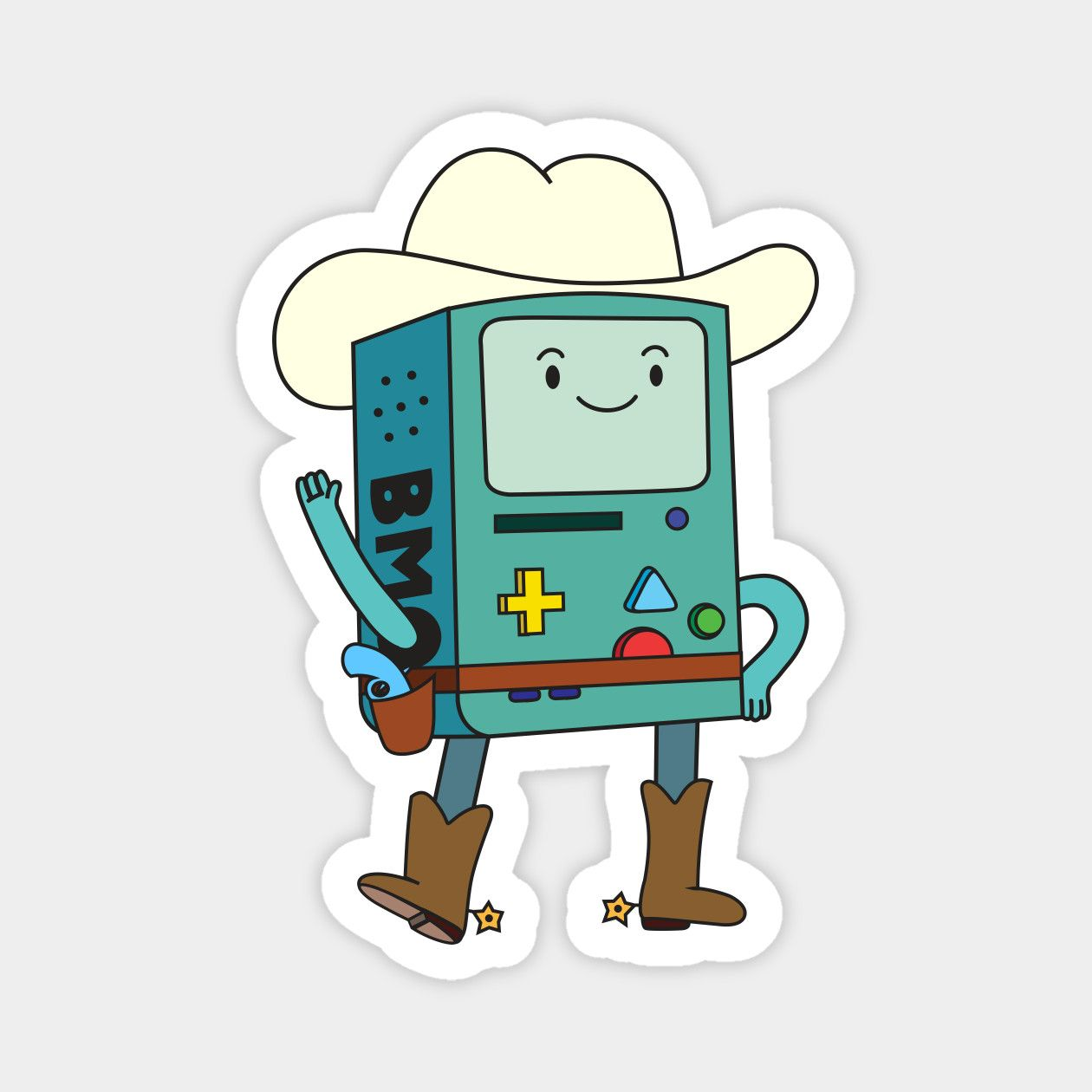 BMO Cowboy Hoodie