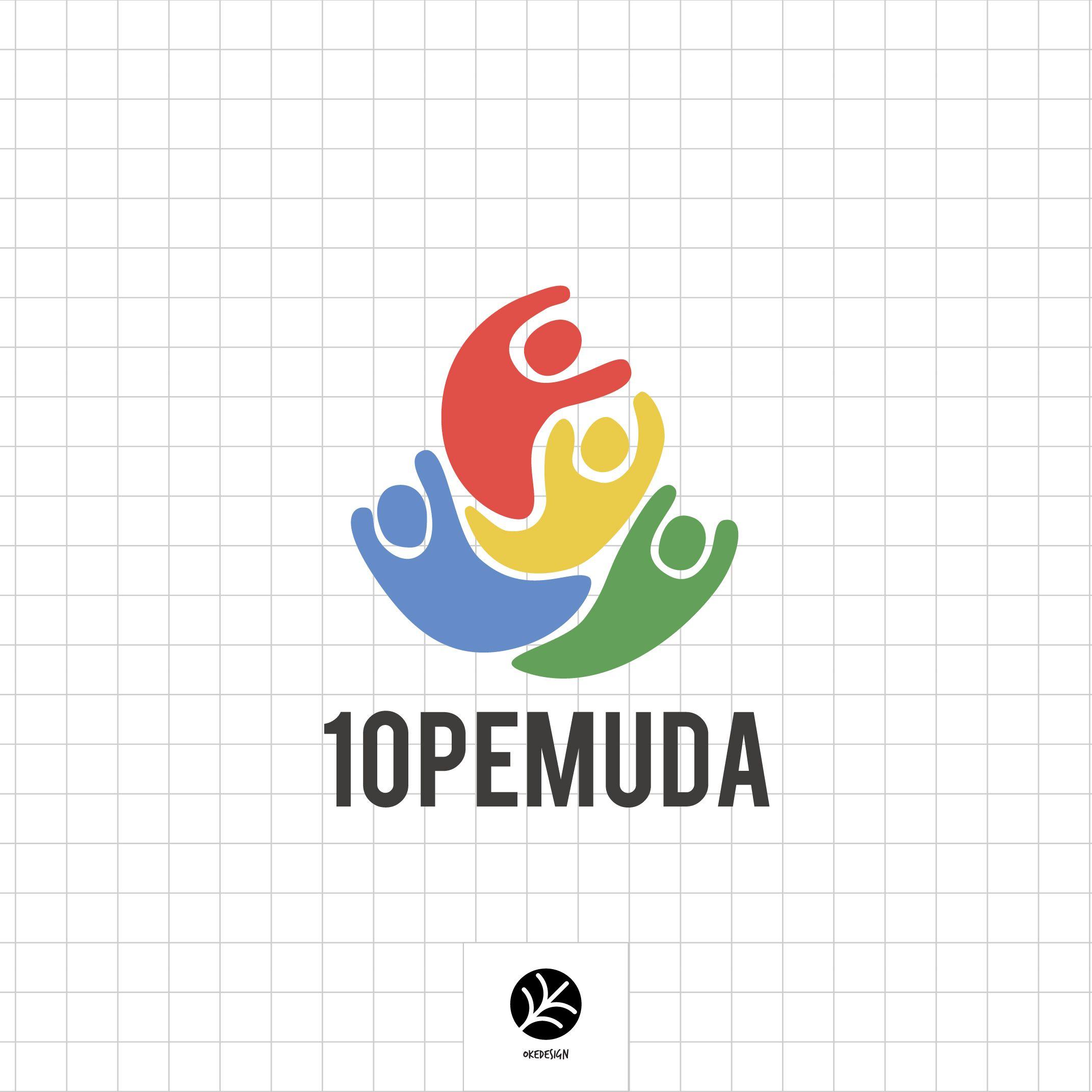 Logo 10pemuda by OkeDesign. 10PEMUDA adalah gerakan untuk