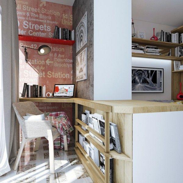 4 Super Tiny Apartments Under 30 Square Meters Includes Floor Plans - departamento de soltero moderno pequeo