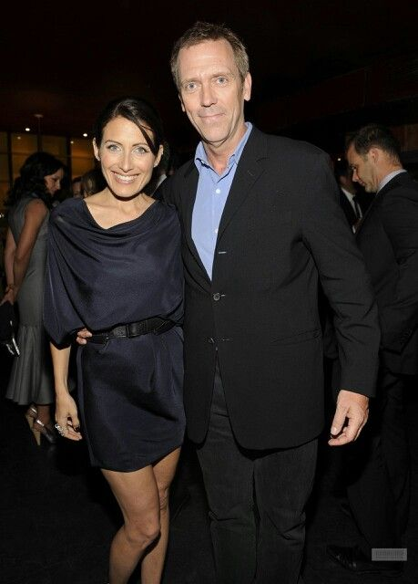 Cuddy And House Lisa Edelstein Hugh Laurie Dr House