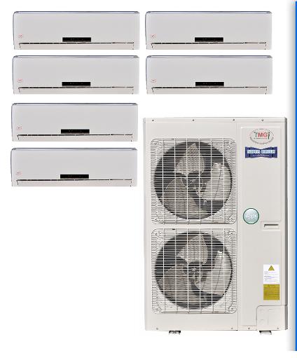 Multi 6 Zone Mini Split Heat Pump AC in Minisplitwarehouse