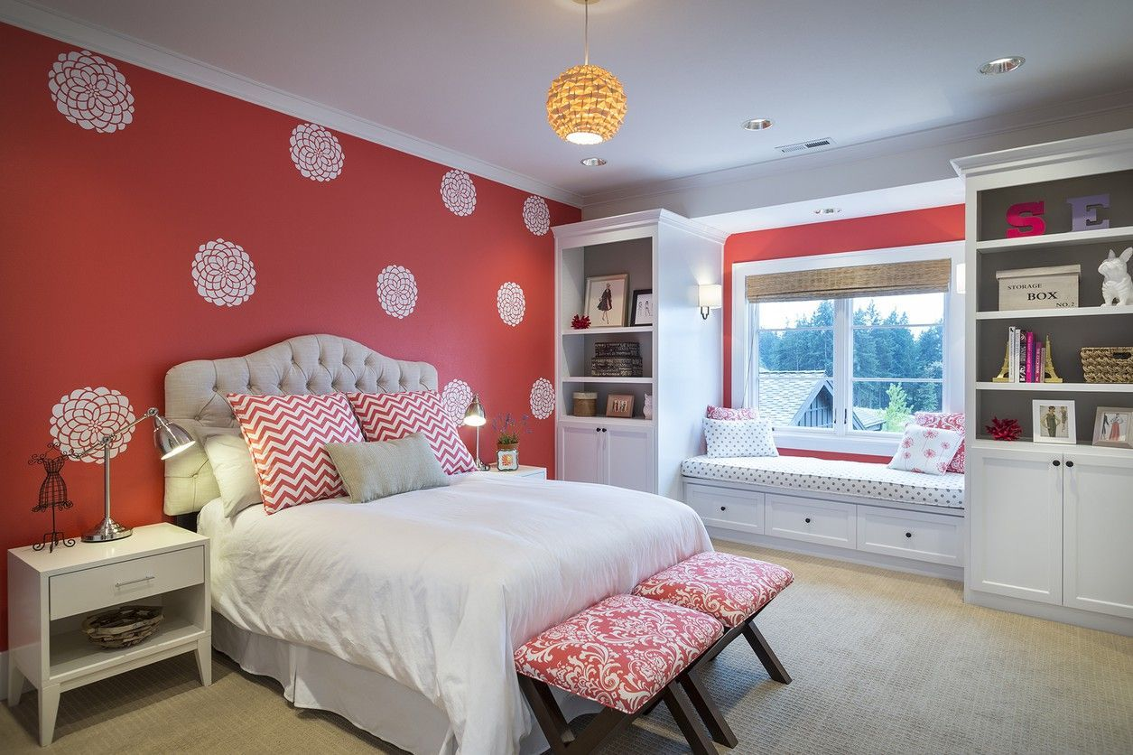 Interior bedroom design teenage girls trafaretdlyasten  Идеи для дома  pinterest