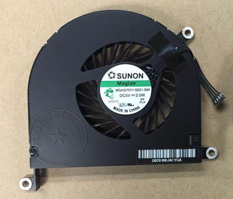 New Cooling Fan For Apple Macbook Pro 17 A1297 Mc024 Mc725 Cpu