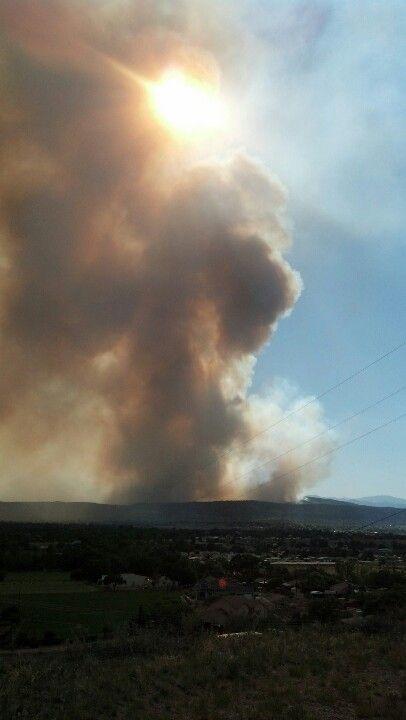 Fires in Colorado