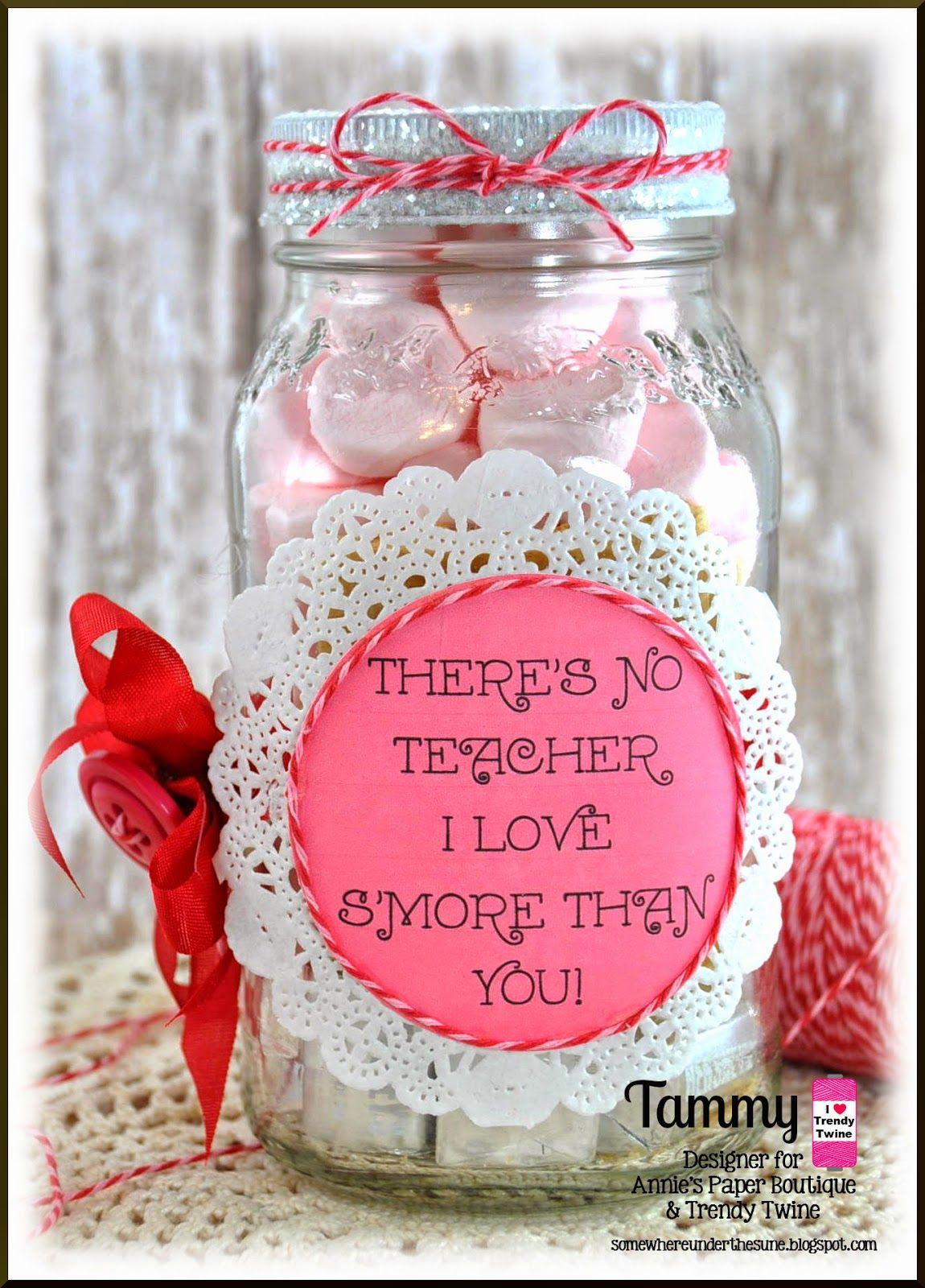 Tammy @ Twine It Up! with Trendy Twine decorated a mason jar with ...