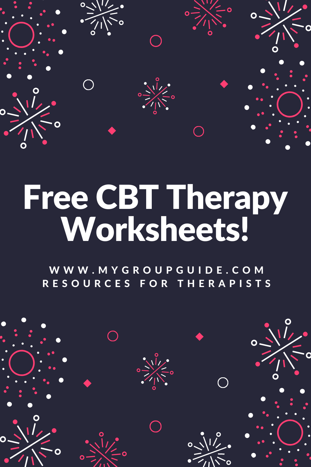My Group Guide- Free Therapy Worksheets