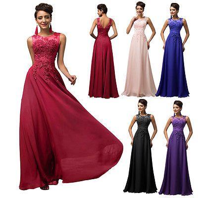 online retailer c9c29 e7c98 Abendkleider Ballkleider Partykleid Brautjungfernkleid Lang ...