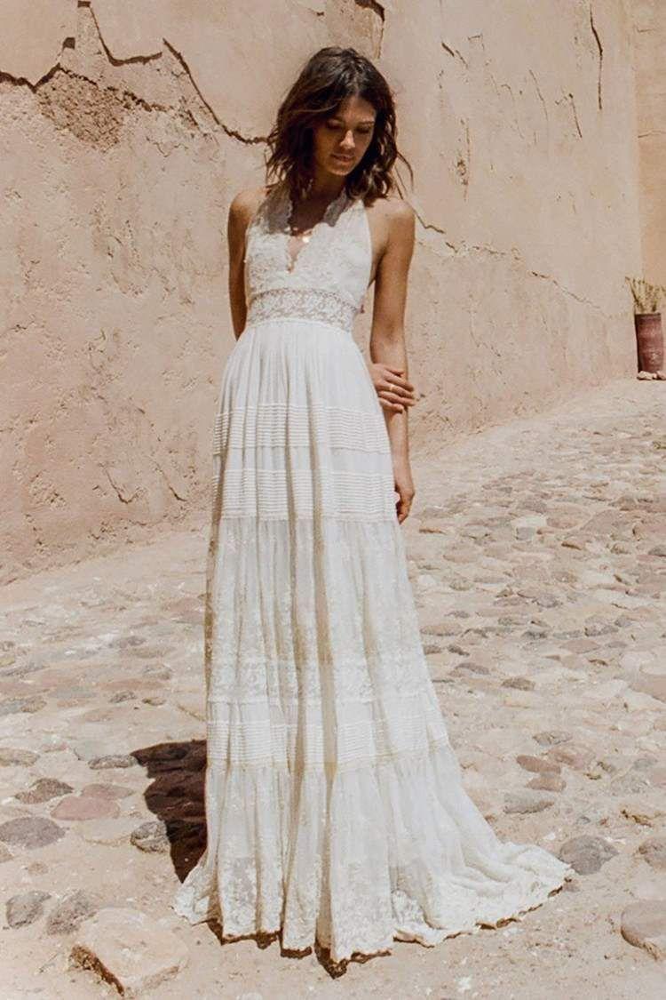 Image associée   Backless bridal gowns, Bohemian