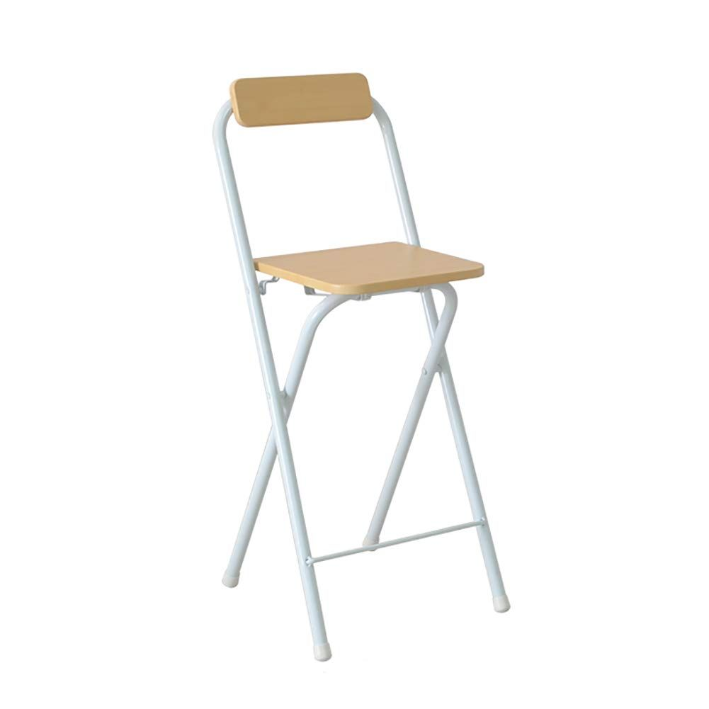 Folding Barstools 24 Inch High Stool With Backs Wood Pub Chair Metal Counter Bar Stool Chair For Bar Home Wood Folding Bar Stools Bar Stool Chairs Chair Folding bar stool with back