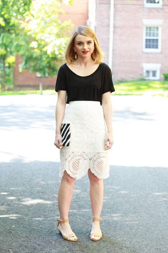 0021a48321f5 Poor Little It Girl - Chicwish Crochet Skirt