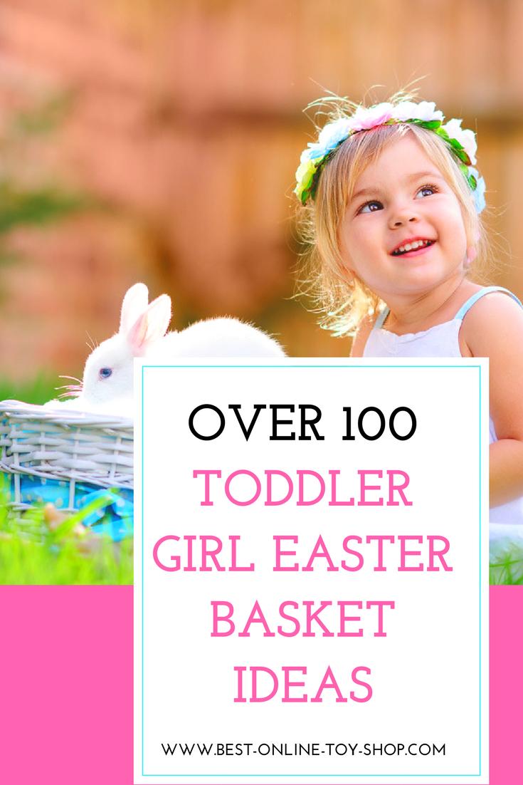 100 easter basket ideas for toddler girls 2018 basket ideas toddler girl easter basket ideas negle Image collections