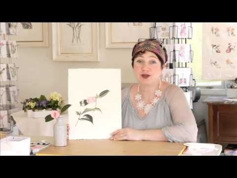 I talk about my water colour online classes - Learning how to paint water colours #billyshowell