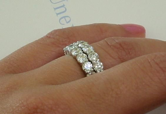 spacer ring for wedding bands Diamond Ring and Eternity bands