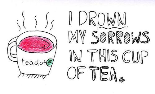 Its always tea time! <3
