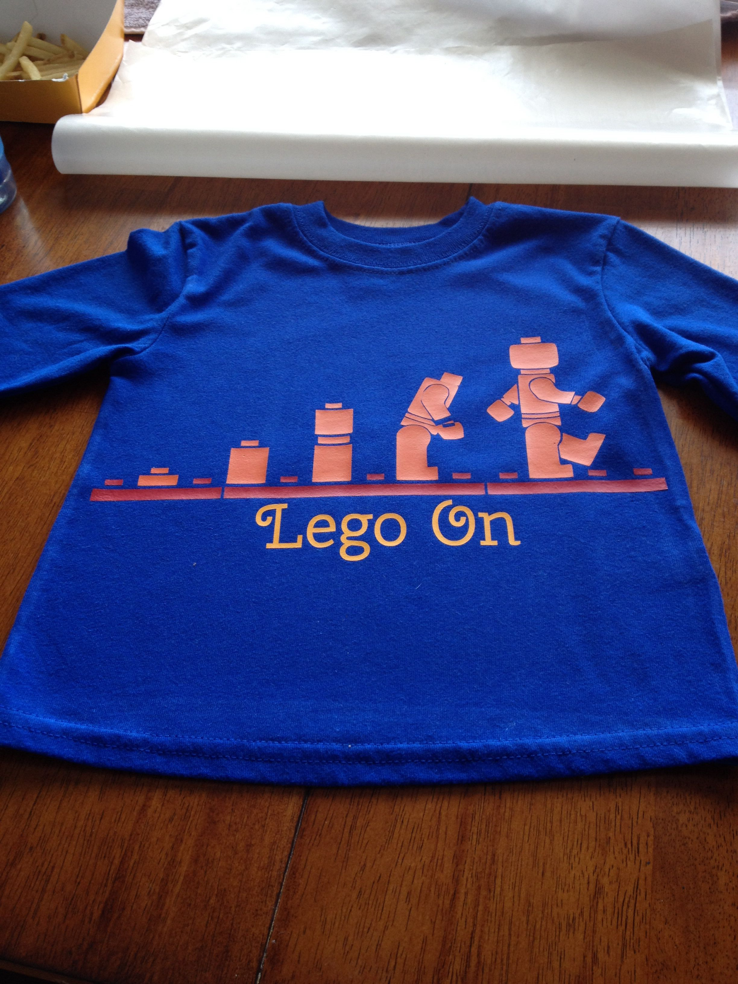Heat Transfer Vinyl Lego Evolution Shirt Vinyl Shirt Ideas