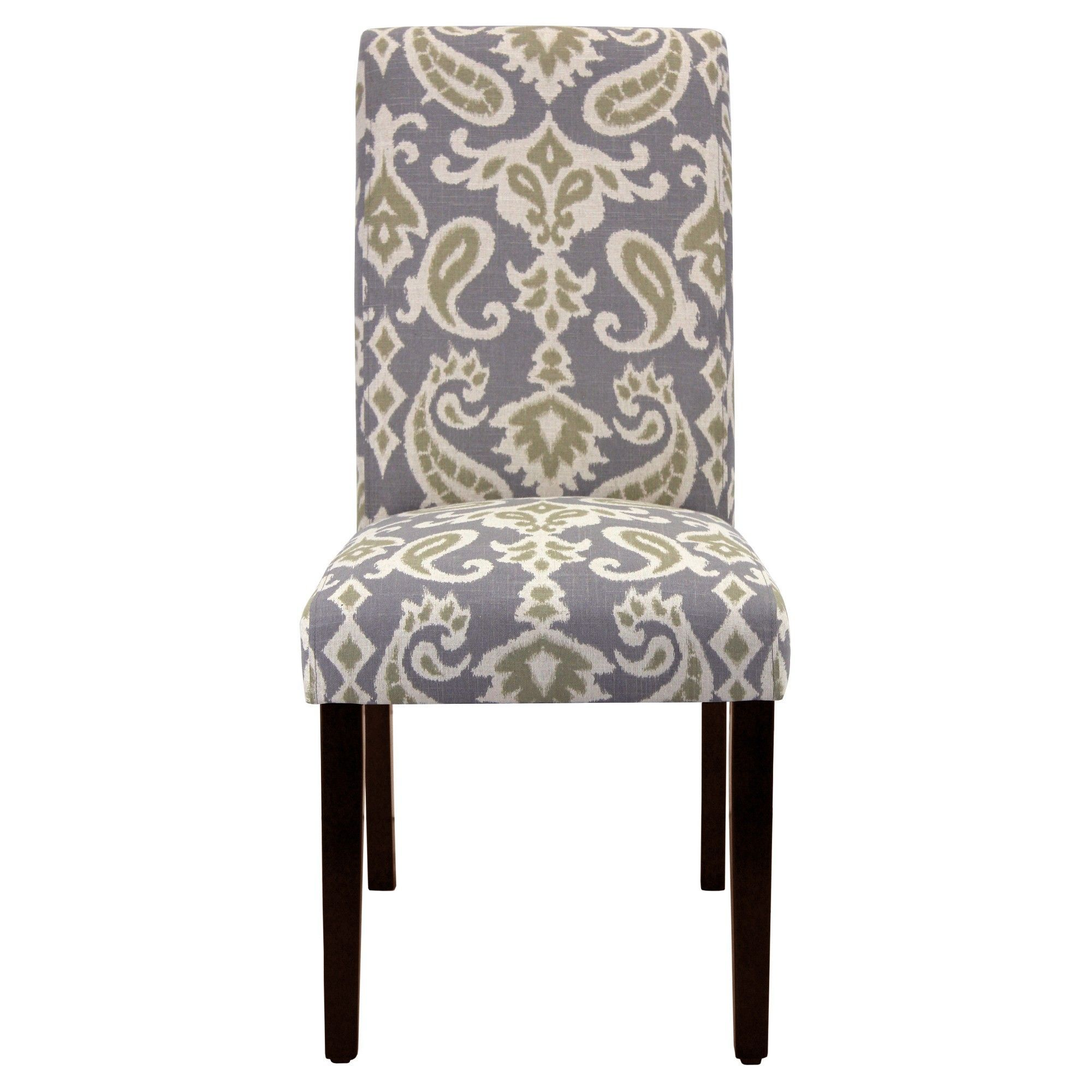 Brilliant Avington Print Accent Dining Chair Enchanted Mineral Short Links Chair Design For Home Short Linksinfo