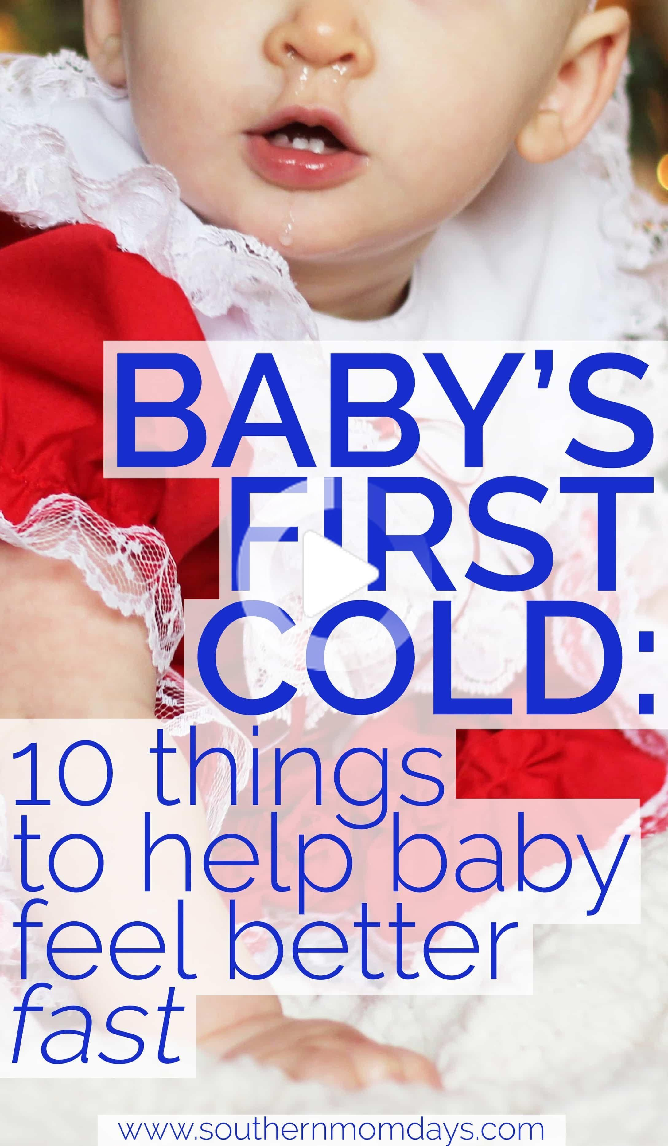Babys First Cold Kit How To Help Baby Feel Better Fast In 2020 Baby Cold Remedies Baby Fever Remedies Sick Baby Remedies
