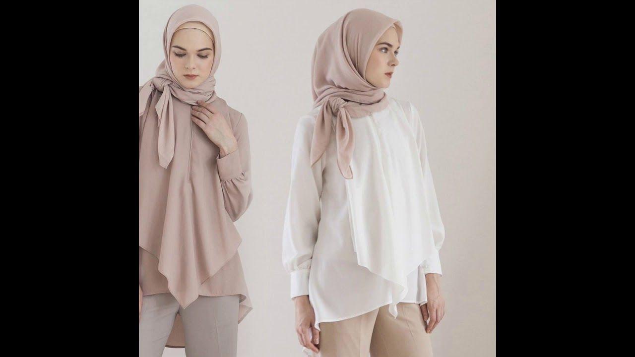 Desain Baju Hijab Ini COcok Untuk Orang Gemuk Atau Pendek  Gaya