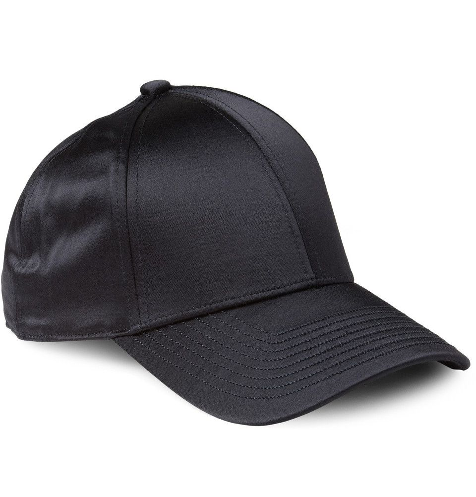 Acne Camp Satin Baseball Cap  9971f072bf7