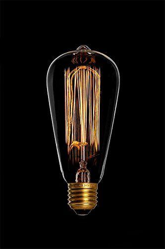 DANLAMP Schmucklampe Edison Lampe rustikal 60W / 240V / E27 / antik: Amazon.de: Küche & Haushalt