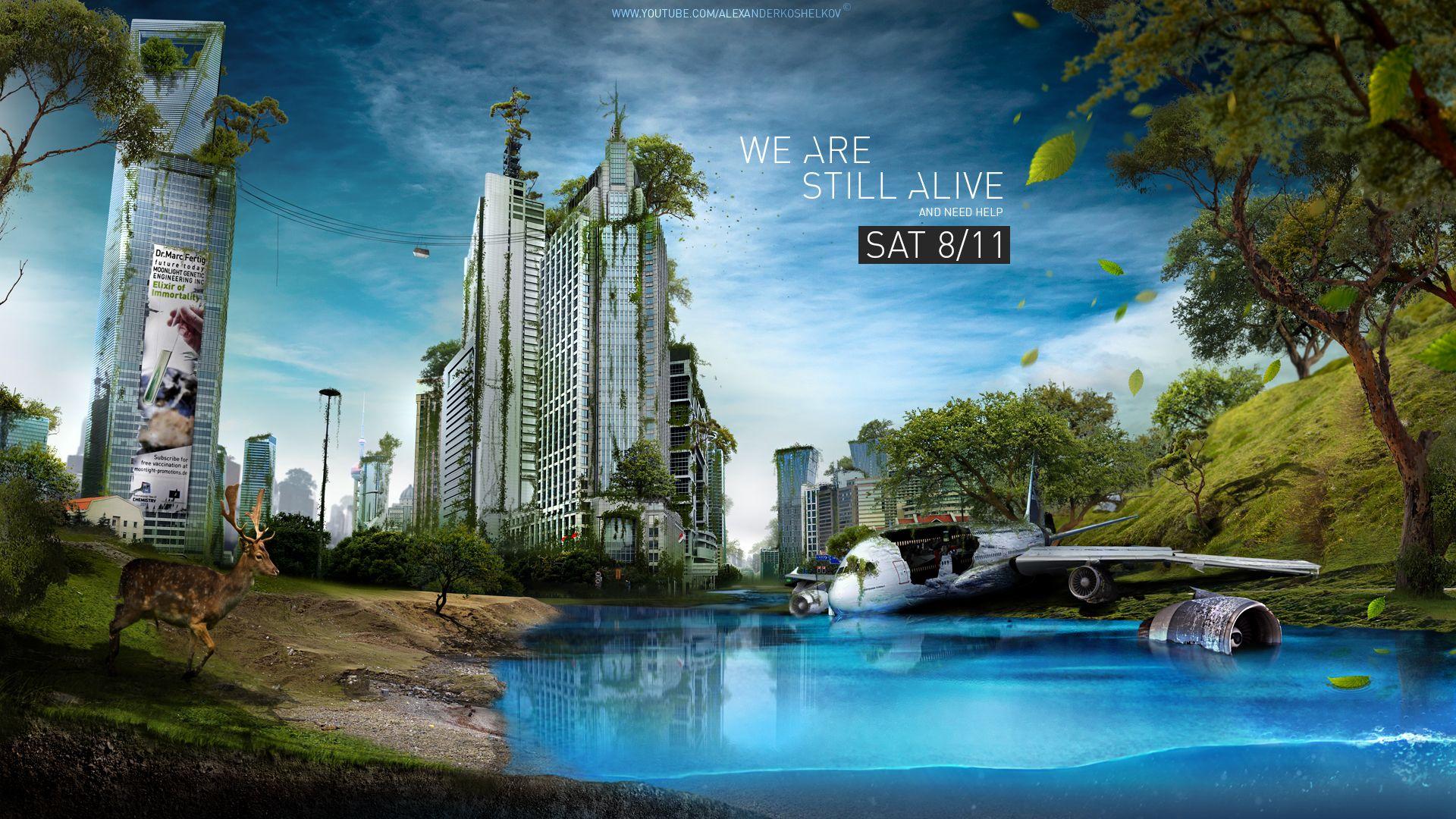 We are still alive by koshelkov on deviantart landscapes wallpaper baditri Choice Image