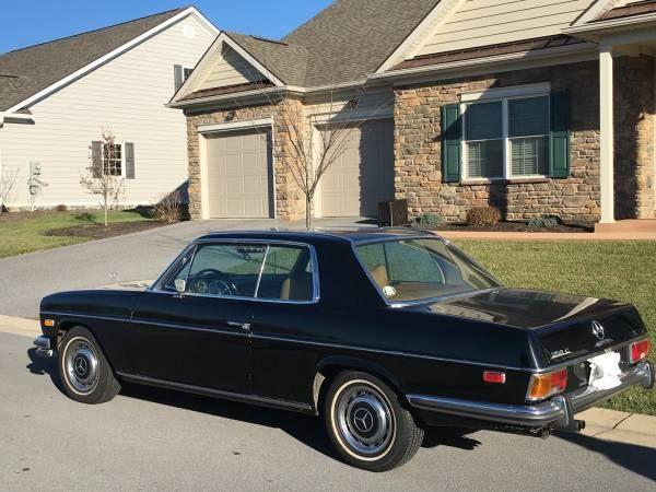 1972 Mercedes Benz 250c Md 13 900 Neg Contact Thomas 717 698 8639 Classic Cars Mercedes Benz Benz