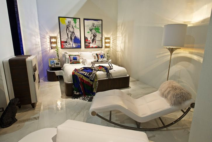 Schlafzimmer Versace ~ The milano residences interior design by versace homes a great