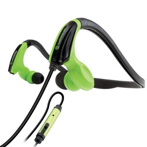 nice GOgroove AudiOHM CFT Sports Fitness Neckband Headphones for Running Jogging Hiking Cycling Gym - Works with LG G3, HTC One M8 Prime, Samsung S5 Prime and many more!