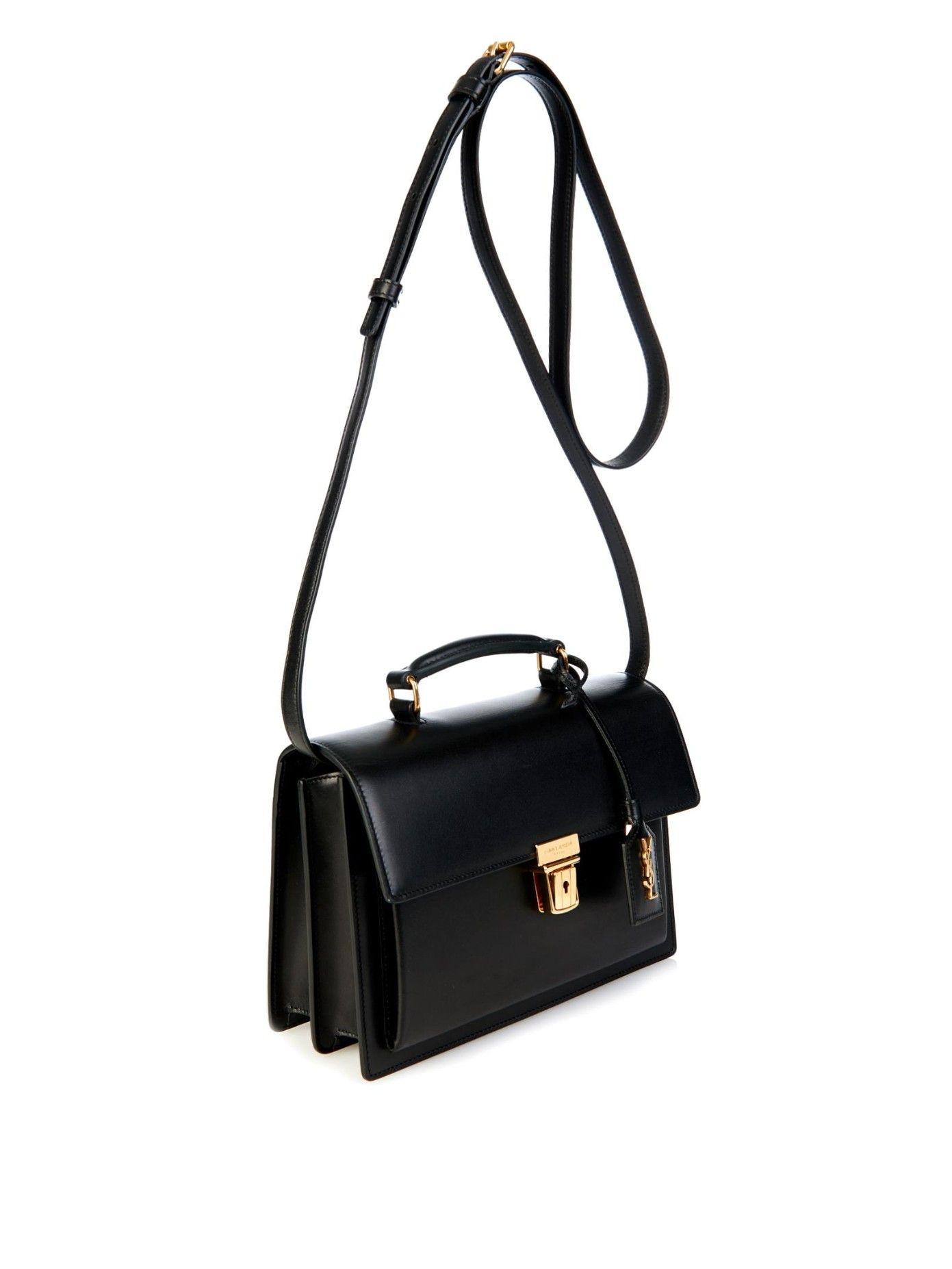 High School Medium Leather Shoulder Bag Saint Lau Matchesfashion Com Uk