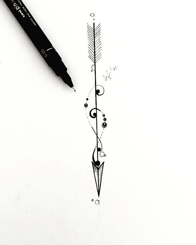 Dibujo Flecha My