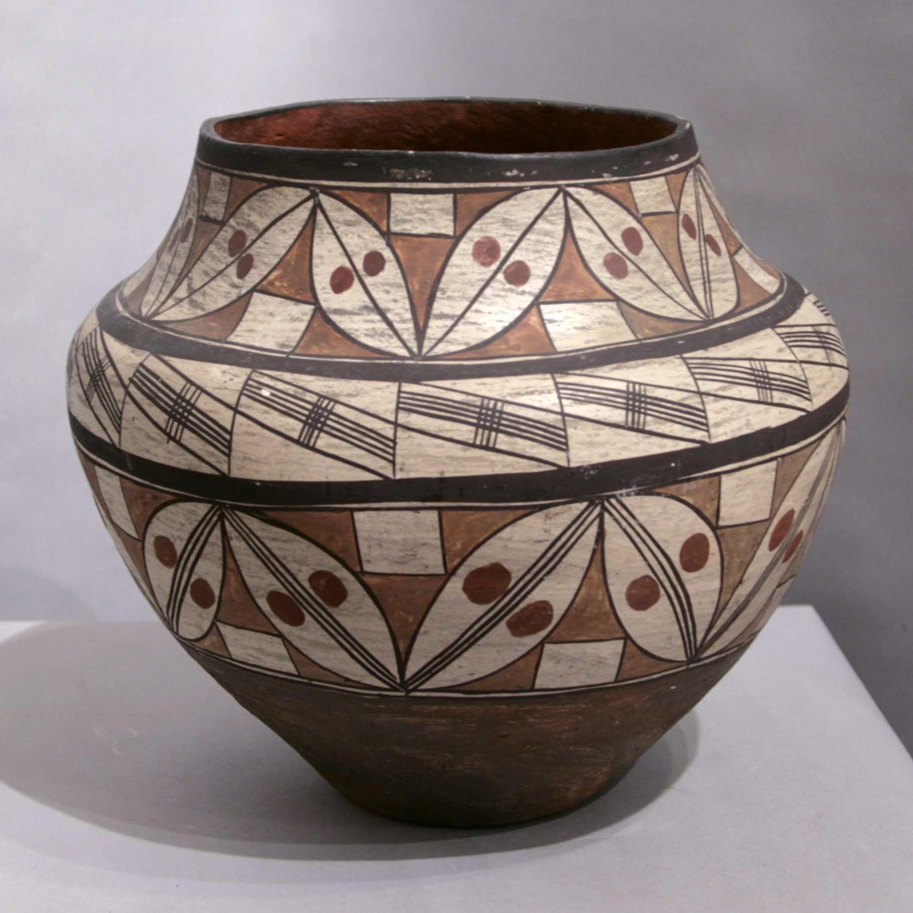 dating acoma pottery