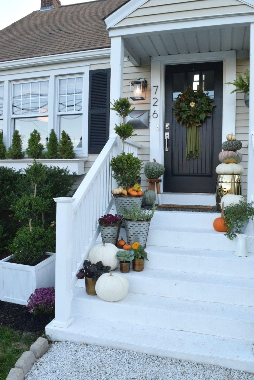 88 cozy thanksgiving porch decoration ideas | porch, cozy and decoration