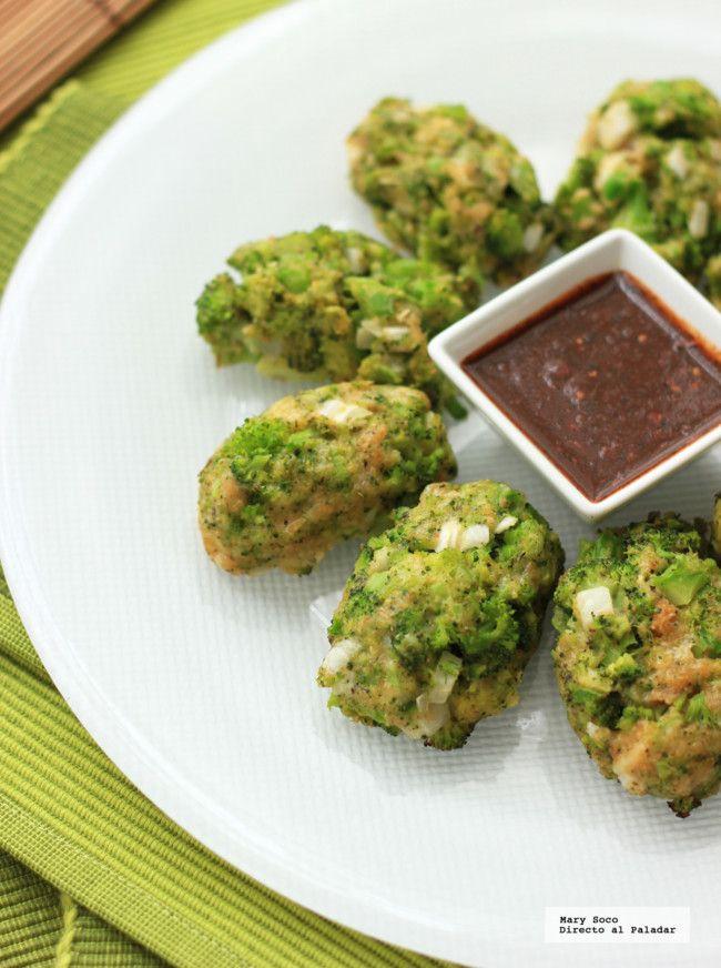 Croquetas horneadas de brócoli
