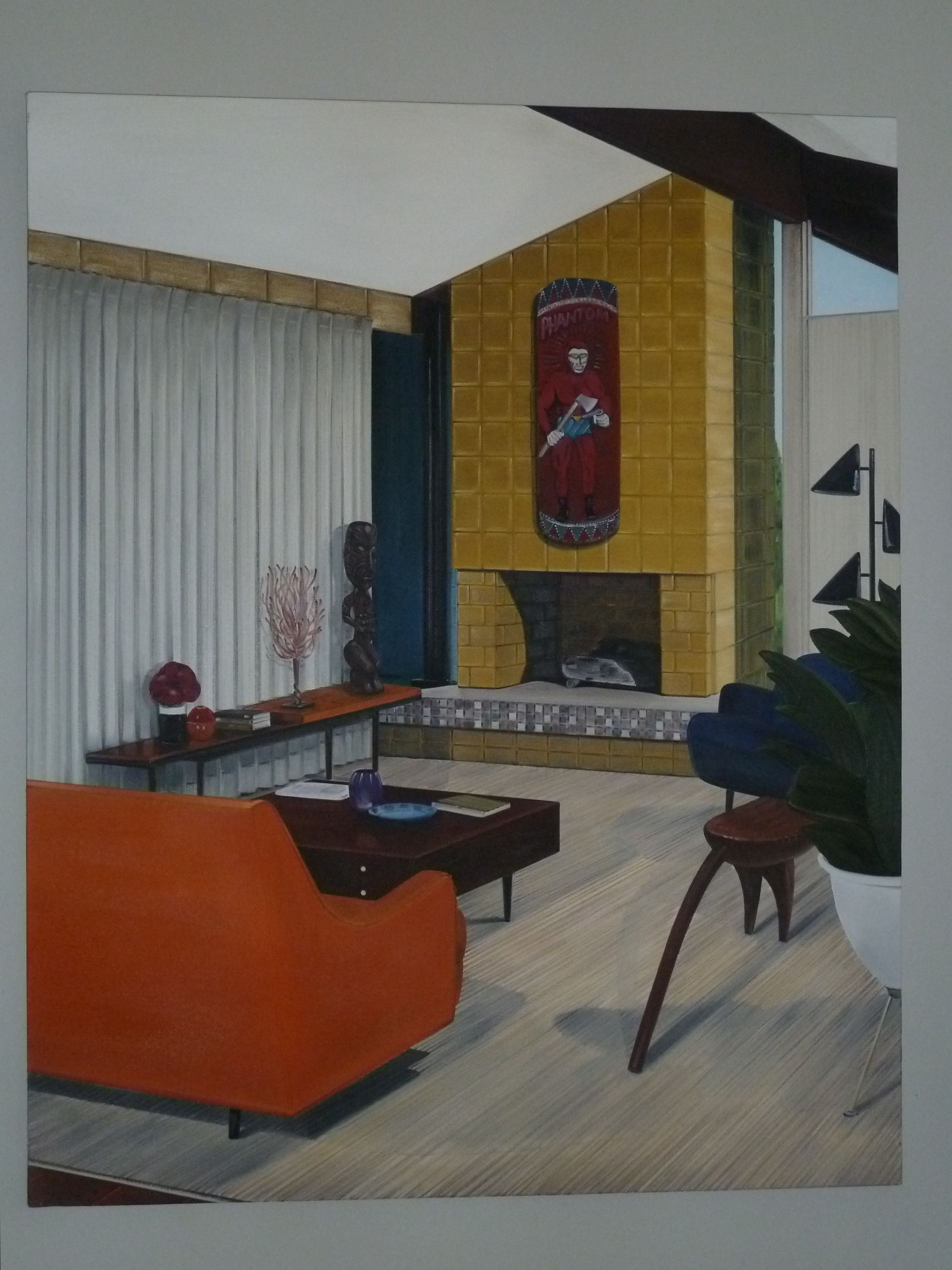 Nz Study Room: Untitled (Lounge Room Tribalism) By Graham Fletcher (With