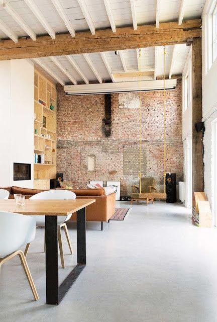 Pays-Bas / Une ancienne tannerie devient un superbe loft ...
