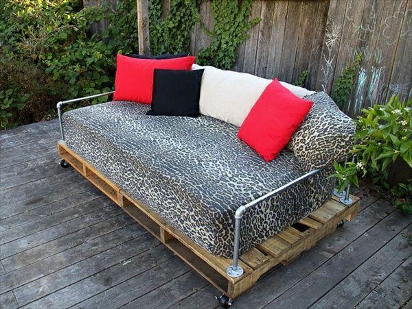 DIY Möbel aus Europaletten u2013 101 Bastelideen für Holzpaletten - paletten und holz diy